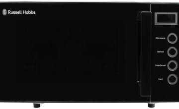 Russell Hobbs 700W Standard Microwave RHEM1901B - Black