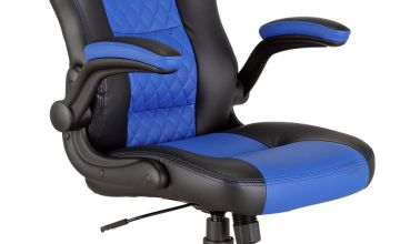Argos Home Raptor Faux Leather Ergonomic Gaming Chair