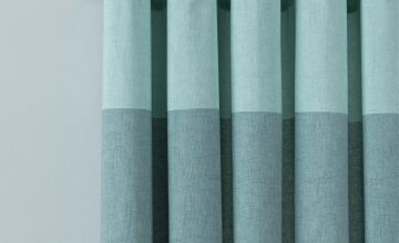 Argos Home Printed Header Unlined Eyelet Curtains