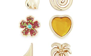 Disney Moana Single Stud Earrings - Set of 6