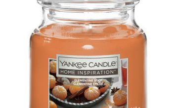 Home Inspiration Medium Jar Candle - Clementine Spice