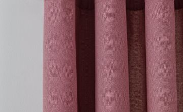 Argos Home Herringbone Lined Eyelet Curtains