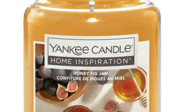 Home Inspiration Large Jar Candle - Honey, Fig & Jam