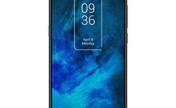 SIM Free TCL 10 128GB 5G Mobile Phone - Chrome Blue