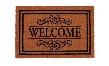 Argos Home Traditional Welcome Coir Doormat