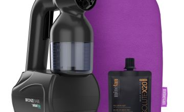 MineTan Bronze Babe Personal Spray Tan Kit - Black