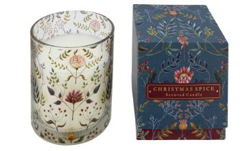Argos Home Boxed Candle - Christmas Spice