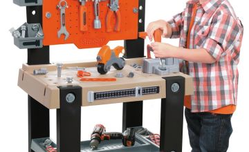 Smoby Giant Black and Decker Workbench