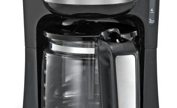 Morphy Richards 162501 Filter Coffee Machine - Black
