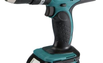 Makita LXT 3.0Ah Hammer Drill with 101 Accessories - 18V