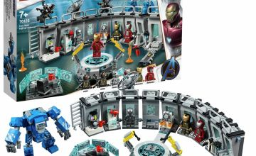 LEGO Marvel Avengers Iron Man Hall of Armor Lab Set - 76125