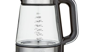 Cookworks Variable Temperature Kettle - Stainless Steel