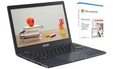 ASUS E210 11.6in Celeron 4GB 64GB Cloudbook - Blue
