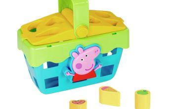 Peppa Pig Shape Sorting Picnic Set