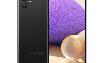 SIM Free Samsung GalaxyA32 64GB 5G Mobile Phone - Black