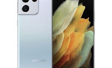 SIM Free Samsung S21 Ultra 128GB 5G  Mobile Phone - Silver