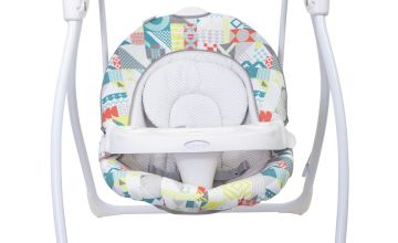 Graco Loving Hug Swing with Plug Patchwork