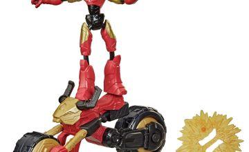 Marvel Bend & Flex, Flex Rider Iron Man & 2-In-1 Motorcycle
