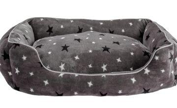 Stars Plush Square Bed - Extra Large