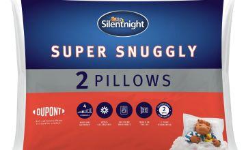 Silentnight Super Snuggly Pillow - 2 Pack