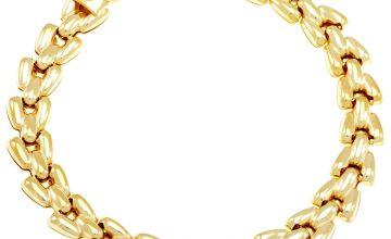 Revere Sterling Silver Flat Link Bracelet