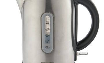 Cookworks Illumated Kettle - Brushed Stainless Steel