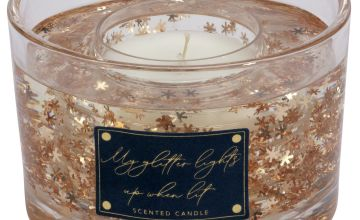 Argos Home Dutch Glam Large Gel Candle