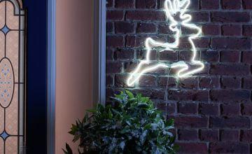 Argos Home Neon Large Light Up Reindeer