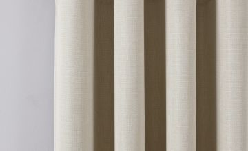 Argos Home Linen Look Eyelet Curtains