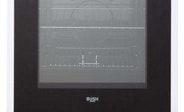 Bush B60SCWX 60cm Single Electric Cooker - White