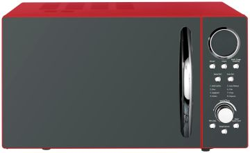 Morphy Richards 900W Standard Microwave P90D23ELB8 - Red