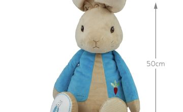 Beatrix Potter Giant 50xm My First Petter Rabbit Soft Toy