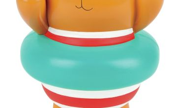 Hape Swimmer Teddy Wind Up Toy