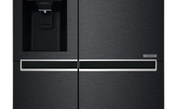 LG GSL761MCXV American Fridge Freezer - Black