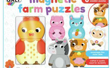 GALT Magnetic Farm Puzzles