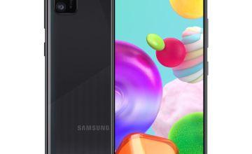 SIM Free Samsung A41 64GB Mobile Phone - Black