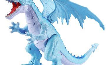 Zuru Robo Alive Ice Blasting Dragon - Blue