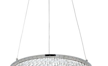 Argos Home Sophia LED Beaded Pendant Ceiling Light - Clear