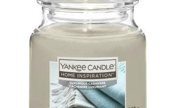 Home Inspiration Medium Jar Candle - Luxurious Cashmere