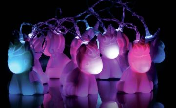 Fizz Creations Children's 2m Unicorn String Lights