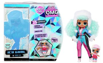 LOL Surprise OMG Winter Chill Icy Gurl Fashion Doll