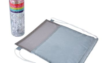 Imagination Station Rainbow Drinks Bottle & Bag