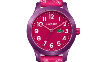 Lacoste  Red Silicone Strap Watch