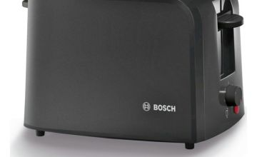 Bosch Village TAT3A0133G 2 Slice Toaster - Black