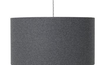 Argos Home Felt Box Shade - Grey