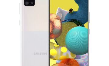 SIM Free Samsung A51 5G 128GB Mobile Phone-Prism Crush White