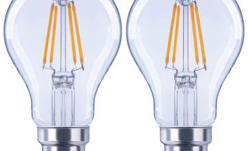 Argos Home 4W LED BC Light Bulb - 2 Pack