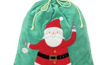 Argos Home Present Sack Santa