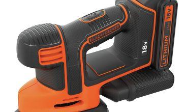 Black + Decker Cordless Mouse Detail Sander - 18V