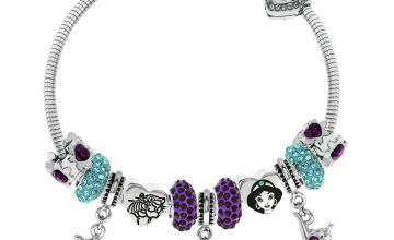 Disney Aladdin Crystal Made Up Charm Bracelet